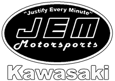 JEM Motorsports Kawasaki, located in South Paris, ME